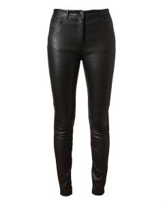 ACNE - 'BEST' SKINNY LEATHER TROUSERS