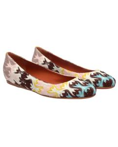 MISSONI - Knit Covered Ballerina Flats