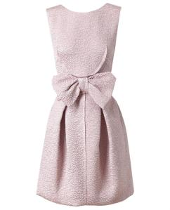NINA RICCI - SILK-BLEND CLOQUE DRESS £920