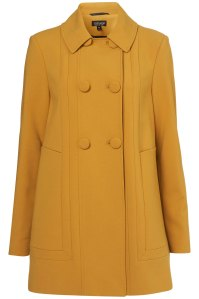 Topshop - A-Line Sixties Swing Coat £40