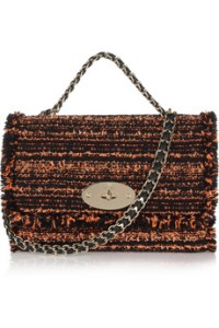 MULBERRY- Lily bouclé tweed shoulder bag