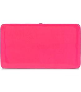 Raina Pink Flat Colour Block Clutch - £44