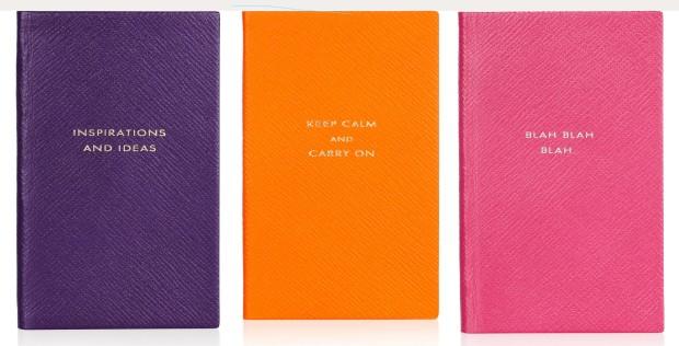 Smythson Leather Notebooks - £45
