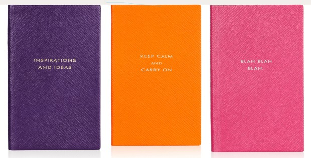 Smythson Leather Notebooks - £45