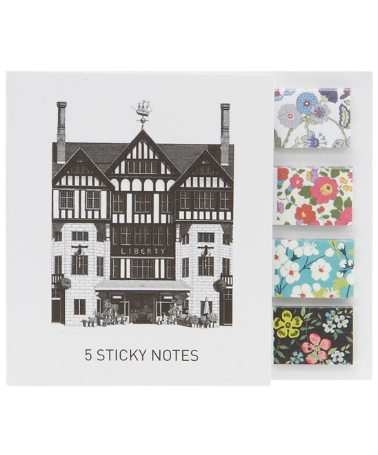 Liberty Print Post-It Notes- £5.95