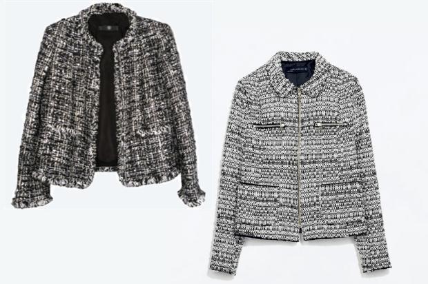 Chanel, Zara, Tweed, Jacket,
